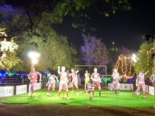 Jamshedpur Jubilee Park 3rd March Lighting 2018 Jubli Park, Light  founders day tata company fc club
