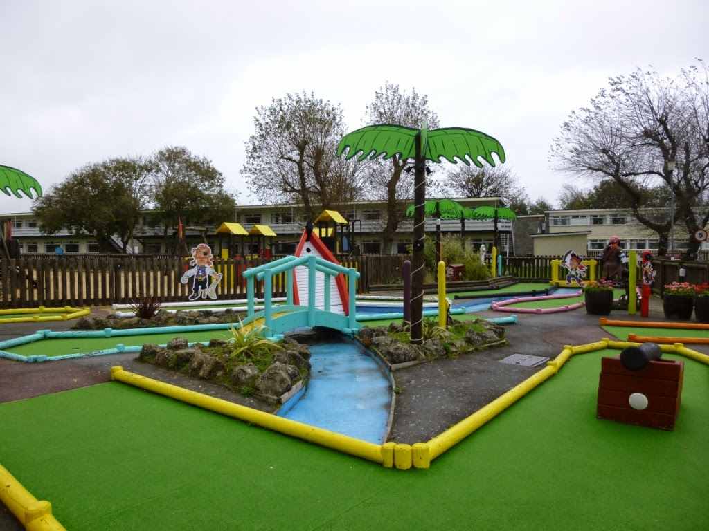 Crazy Golf at Pontins Camber Sands