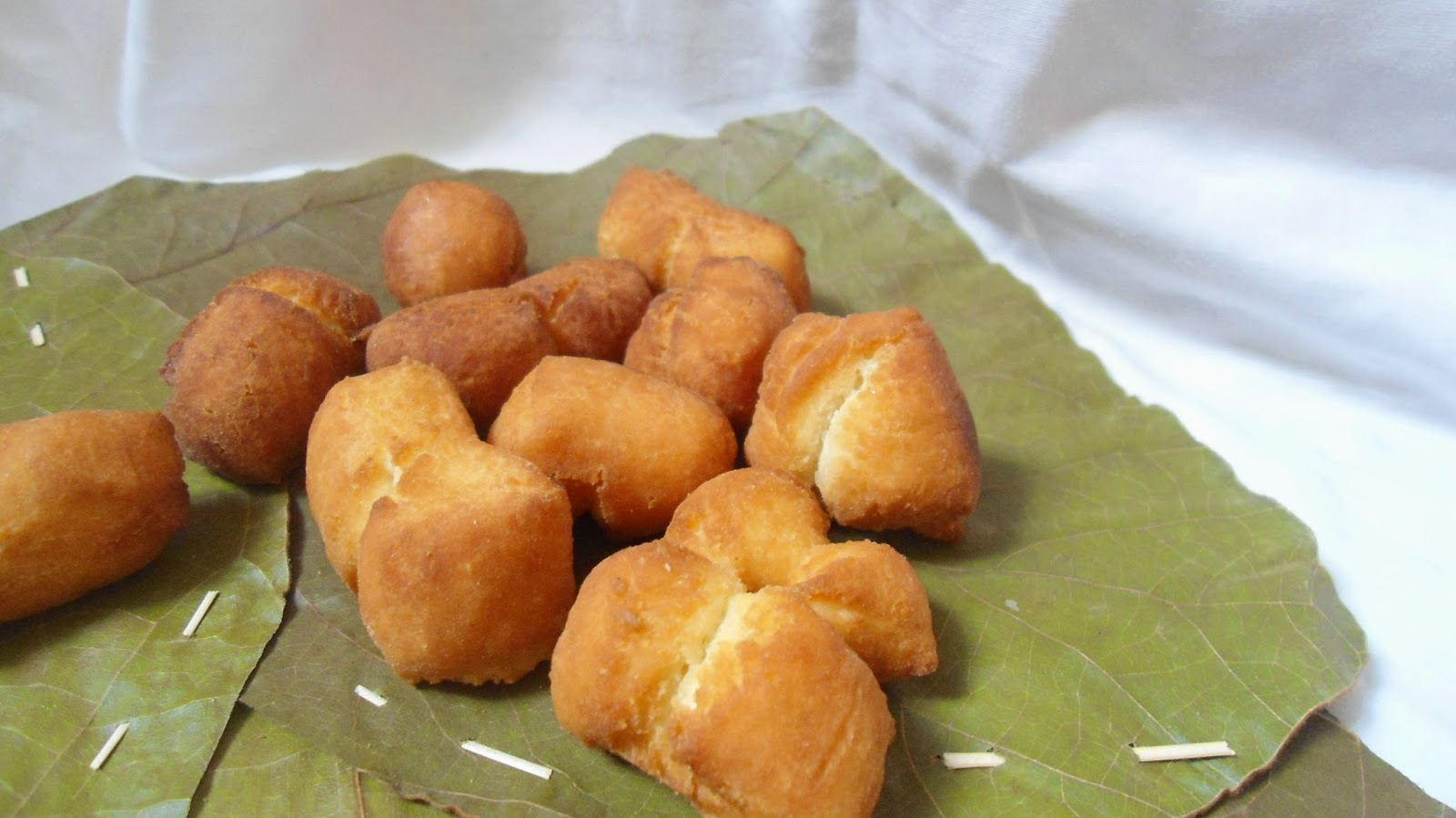 fried tea cake