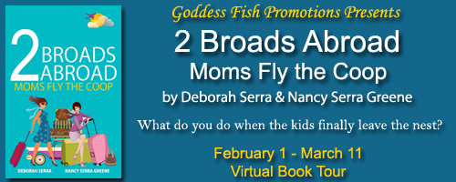 http://goddessfishpromotions.blogspot.com/2016/01/virtual-book-tour-2-broads-abroad-moms.html