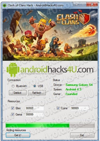 Androidhacks4u com Clash of Clans