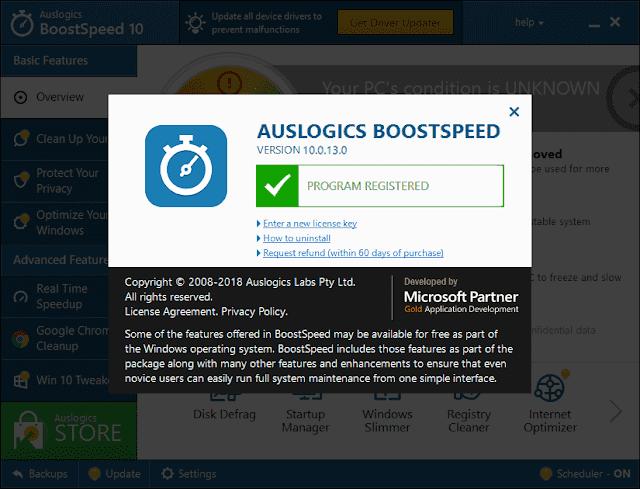 Auslogics BoostSpeed 10.0.13.0 Crack