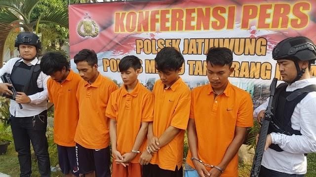 Pengeroyokan Anggota Polda Metro Jaya Ditangkap Polisi