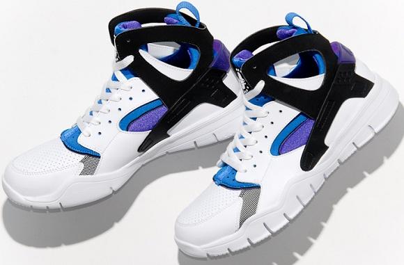 868fa02da961 Nike Air Huarache Bball 2012. White Black-Pure Purple-Soar 501529-100