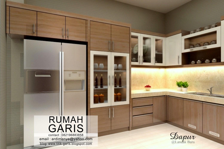 Desain Dapur Bentuk U Interior Rumah