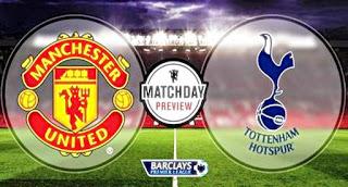 Manchester United vs Tottenham Hotspur: Rooney Siap Main, Smalling & Shaw Absen