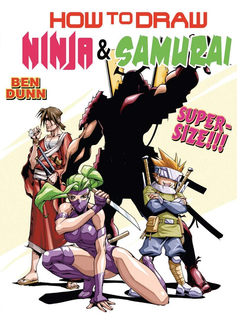 """Descargar """"Cómo dibujar Ninjas y Samurais"""""""