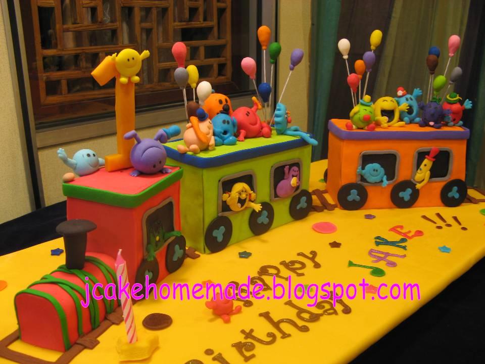 Jcakehomemade Mr Men And Little Miss Birthday Cake - Little miss birthday cake