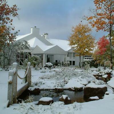 El invierno se vive en la ciudad de Saint-Jean-de-Matha