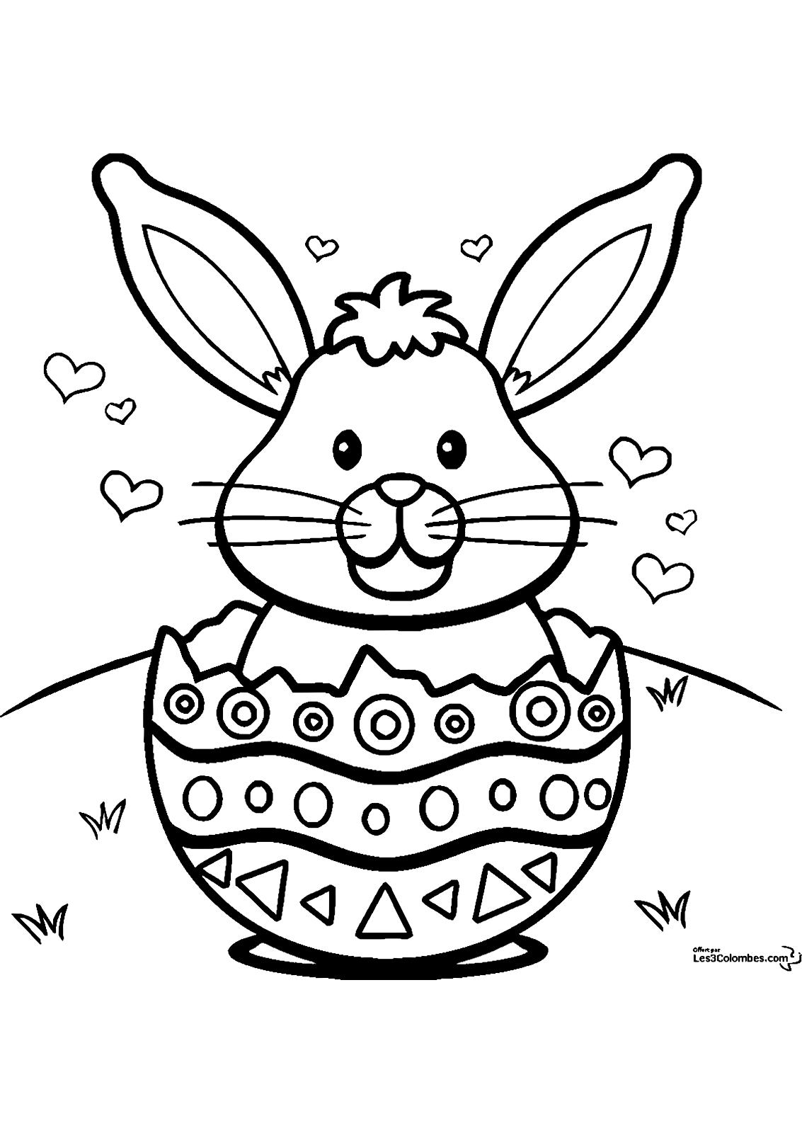 Desenhos De Pascoa Para Imprimir E Colorir So Escola