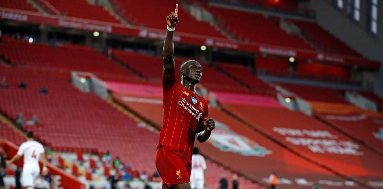 Liverpool quedó a un paso del título con la goleada ante Crystal Palace