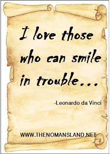 life quotes-smile in trouble