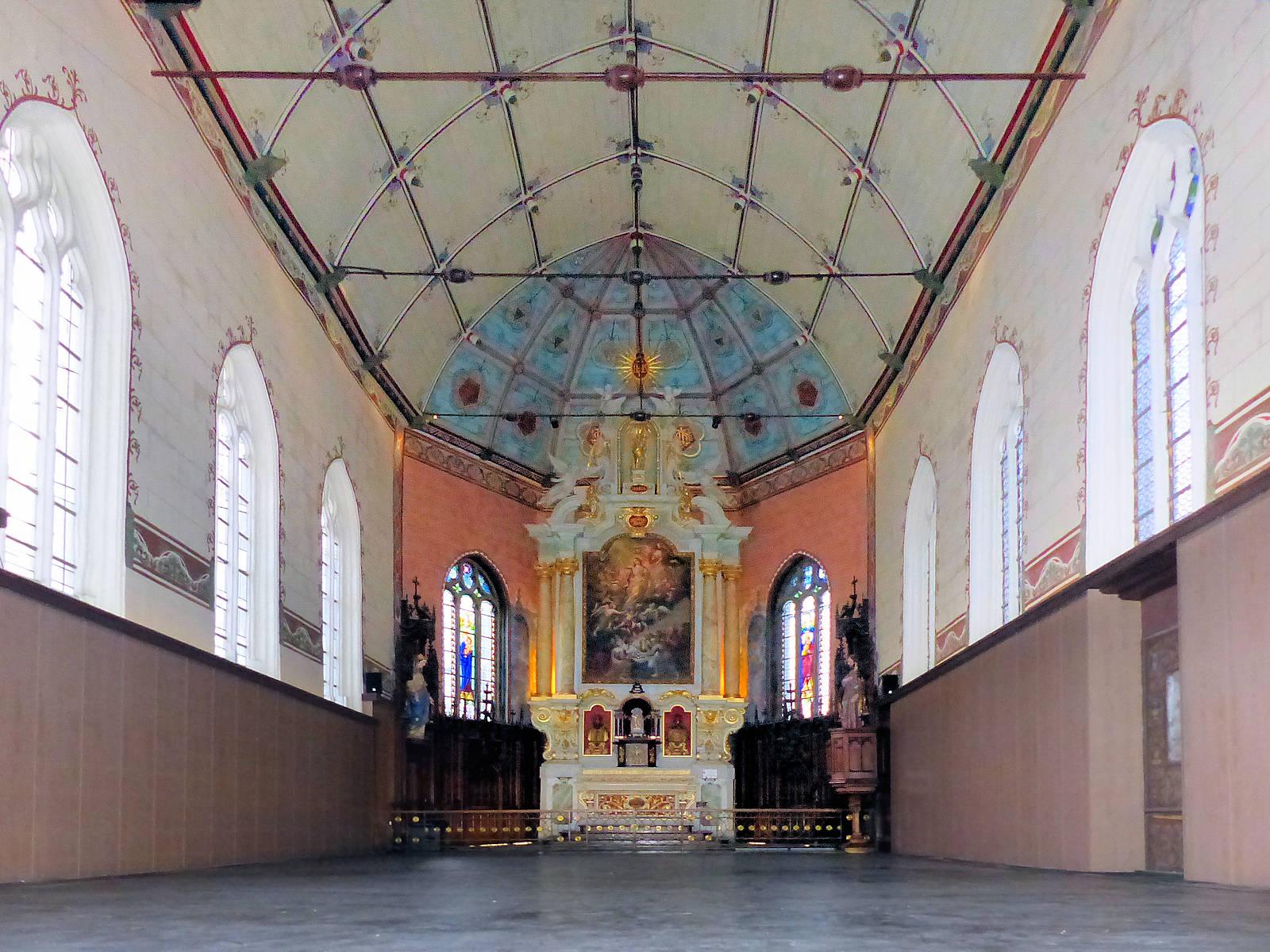 Photo Chapelle d'Havré, Tourcoing - Retable et Voûte