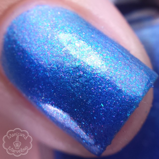 Nail Hoot Lacquer - Gramma Sparkle Berry