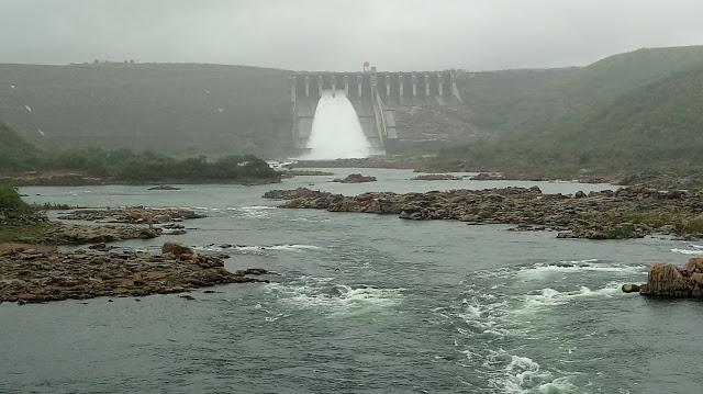 Chesf aumenta vazão da  hidrelétrica de Xingó