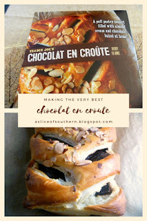 Trader Joe's Chcolat en Croute: What's better than a hot gooey chocolate filled pastry straight from the oven? - Slice of Southern