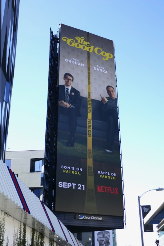 Good Cop TV billboard