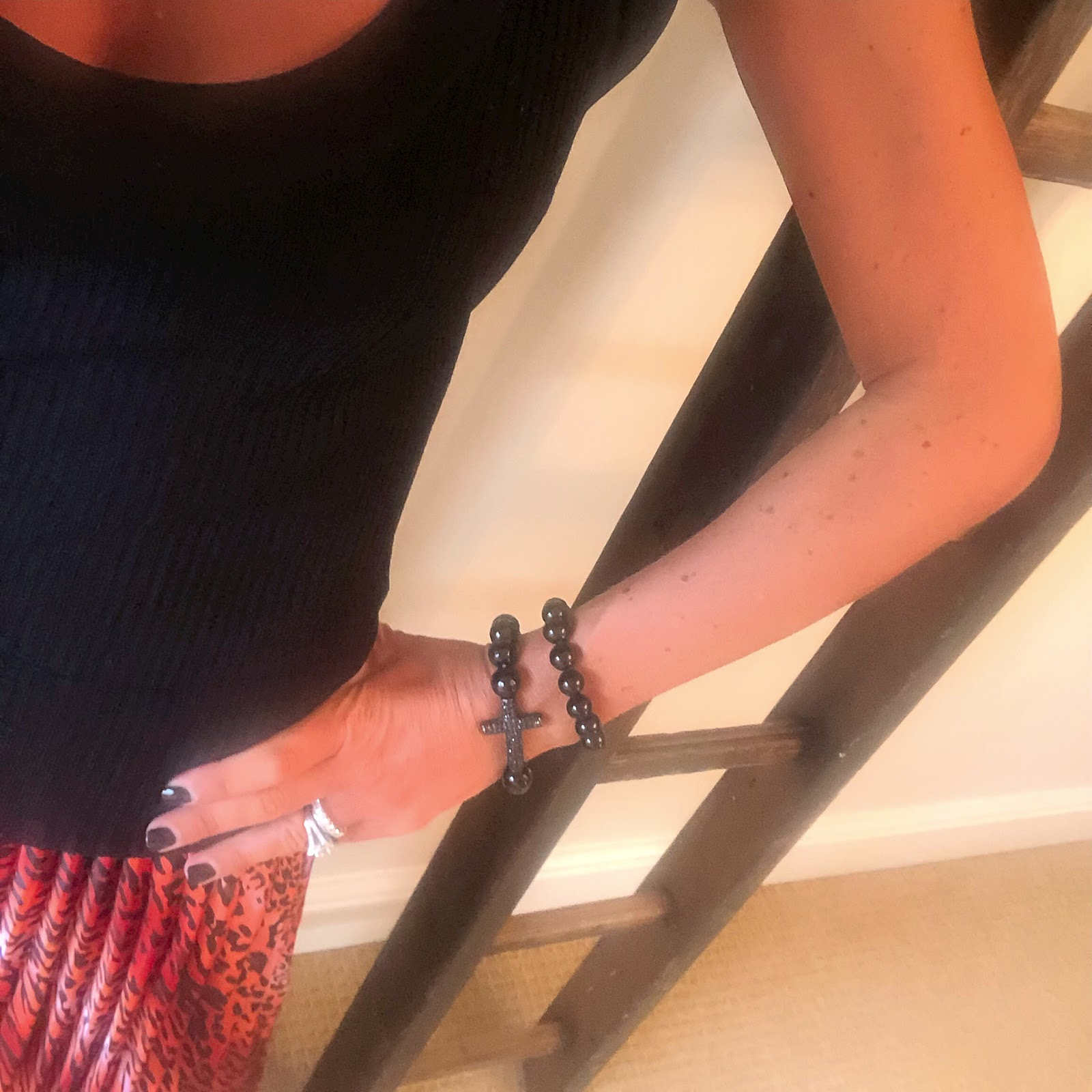 my midlife fashion, zara ribbed knit tank, asos satin pleated leopard print maxi skirt, iro embellished leather eyelet sandals