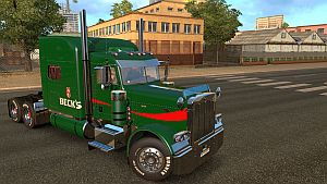 Beck's skin for Peterbilt 389