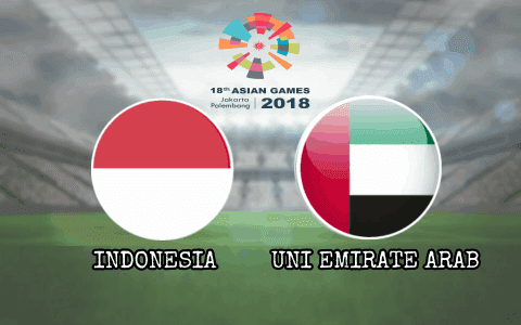 Jadwal Asian Games 2018 Indonesia vs Uni Emirate Arab