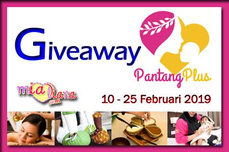 Giveaway PantangPlus.com Di Mialiana.com