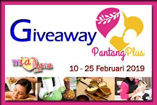 Giveaway PantangPlus.com Di Mialiana.com, Blogger Giveaway, Blog, Hadiah, Wang Tunai, Berpantang, Bersalin,