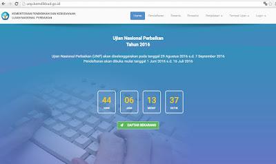 Informasi Pendaftran UNP Tahun 2016