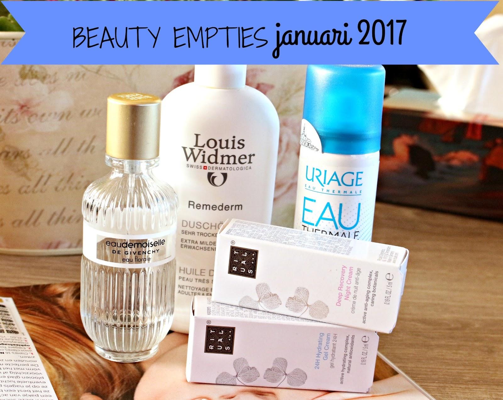 opgemaakte beauty producten januari 2017