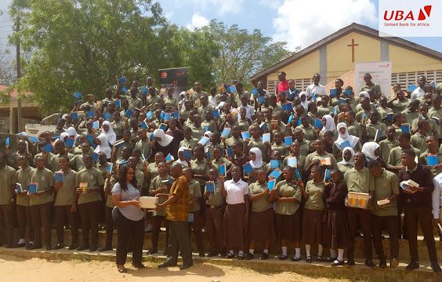 United Bank for Africa – Tanzania donates literature books to Dar Es