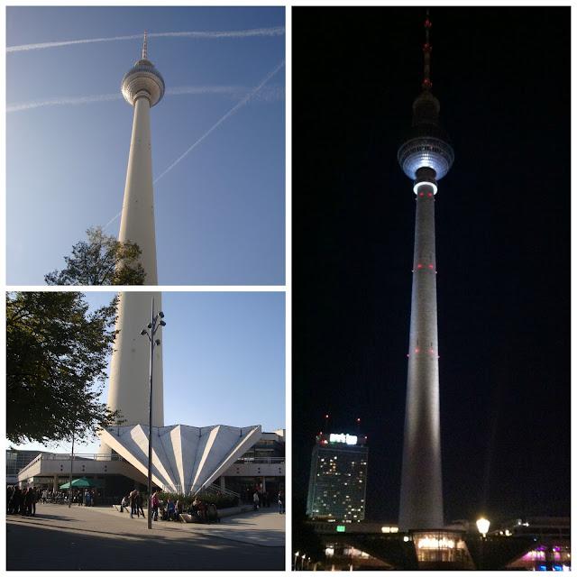 Torre de TV (Fernsehturm), Alexanderplatz, Berlim