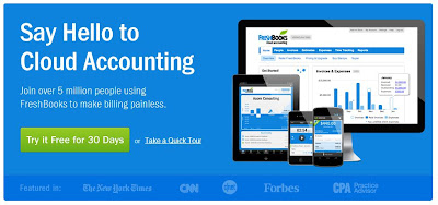 Try Freshbooks Free for a Month