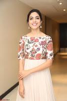 Ritu Varma smiling face Cream Anarkali dress at launch of OPPO New Selfie Camera F3 ~  Exclusive 060.JPG
