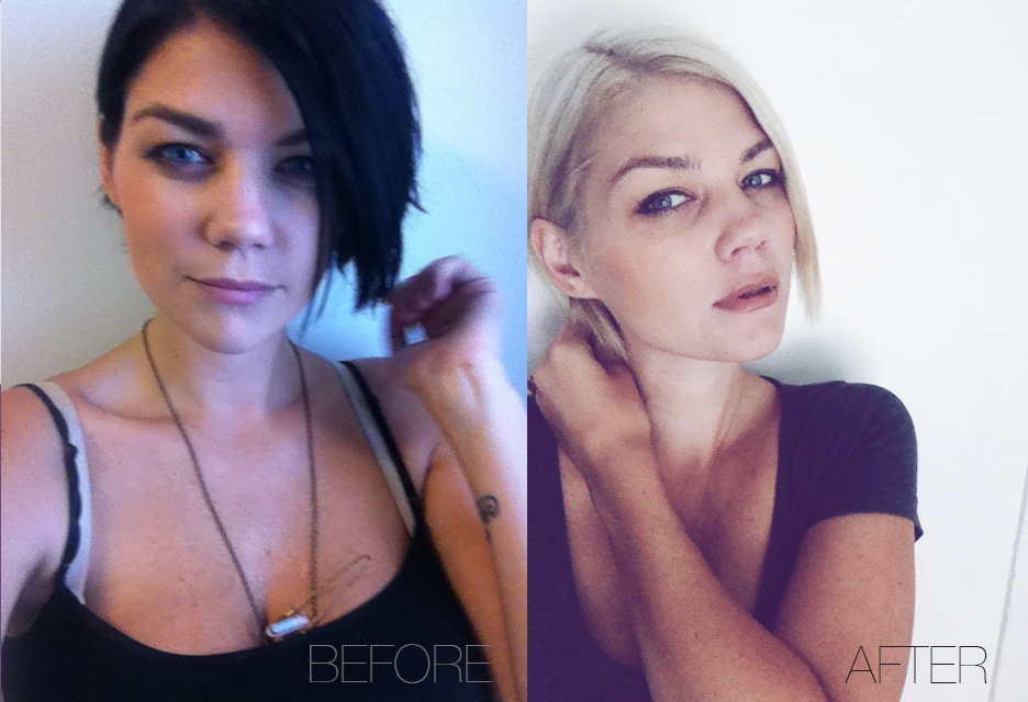 Going Black To Blonde 36