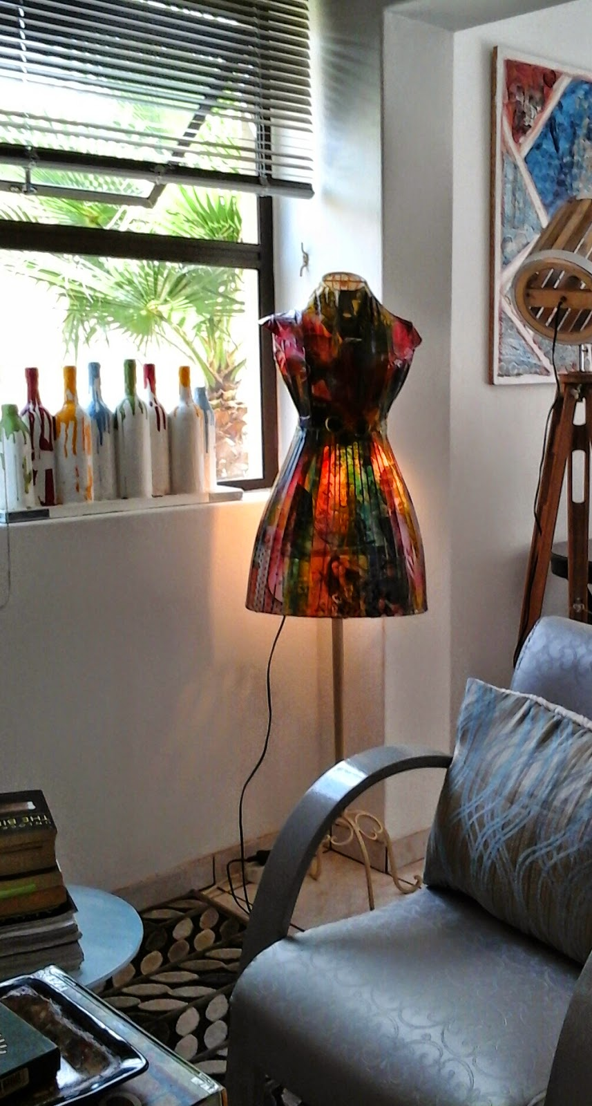 Mannequin Lamp my vintage mannequin lamp stand ( art and craft)miabo enyadike