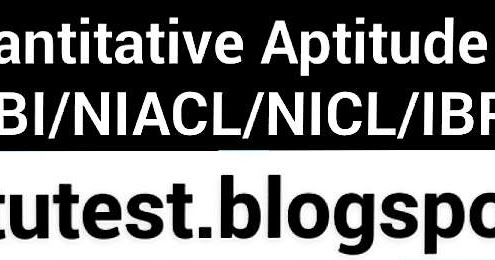 Quantitative Aptitude: Number Series For SBI PO/NIACL/NICL ...