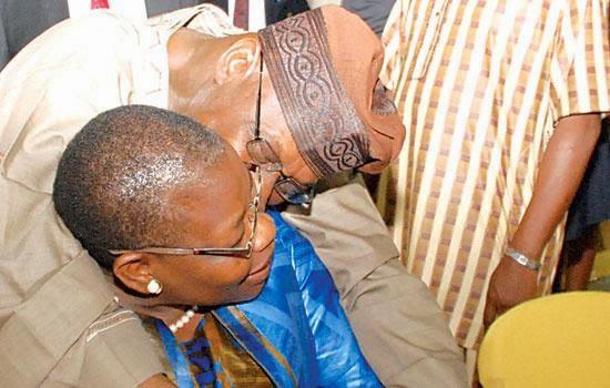 obasanjo oby Ezekwesili kissing