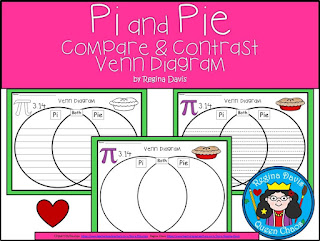 https://www.teacherspayteachers.com/Product/A-Pi-Pie-Venn-DiagramCompare-and-Contrast-3022654