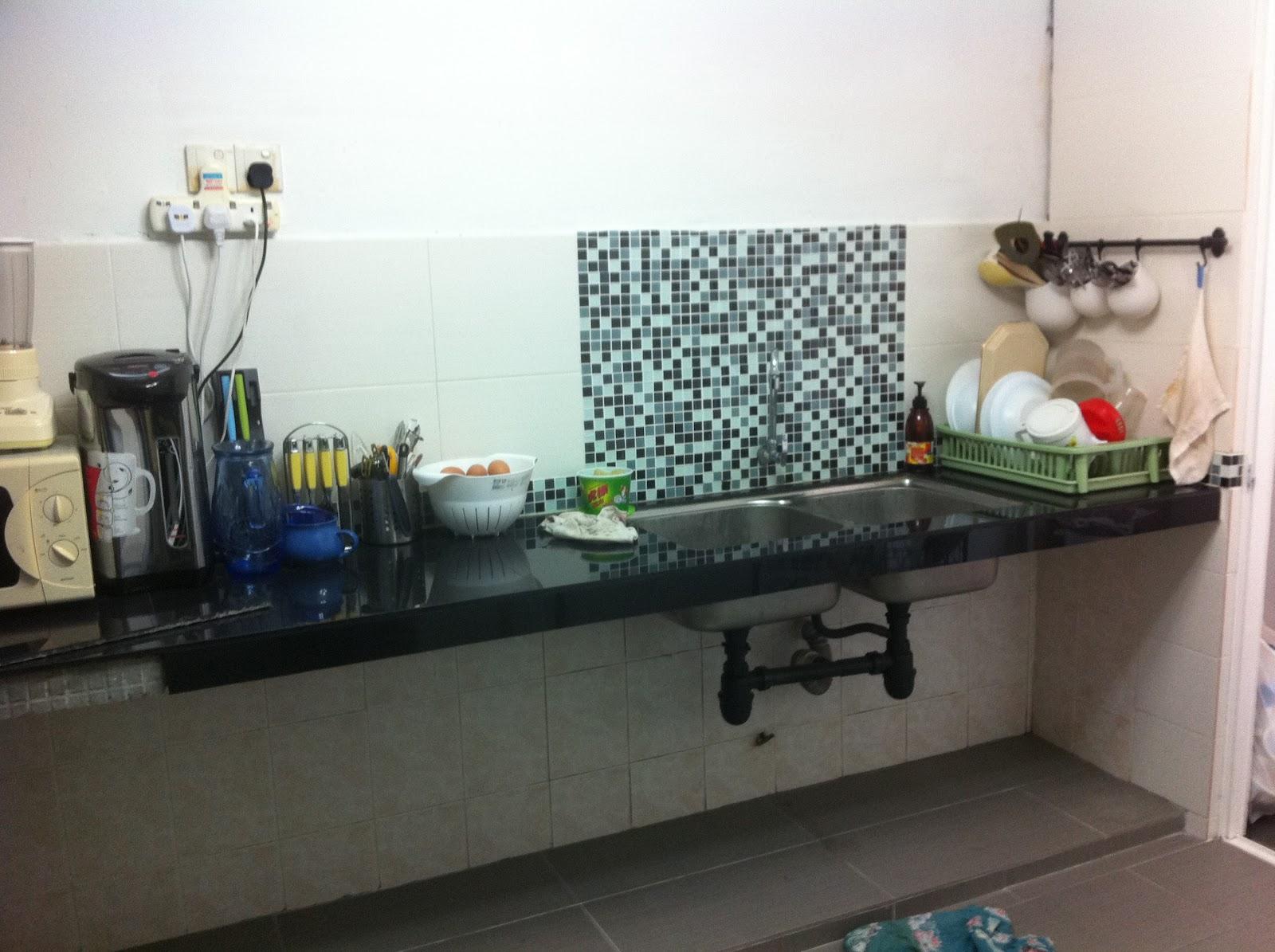 Kitchen Kabinet Dan Kos Pengubahsuaian
