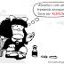 Mafalda: deve ser ALERJia...