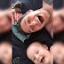 """Papá hace reír a carcajadas a su bebé al decir """"Wassup"""""""