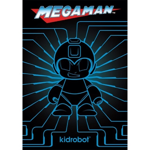 Coming Soon: Mega Man x Kidrobot Vinyl Figures