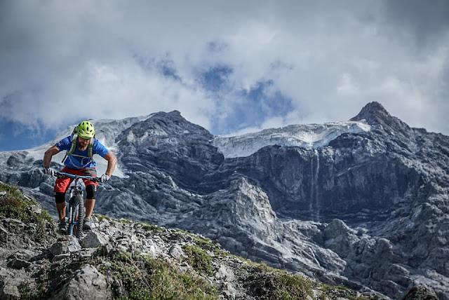 Fotoshooting Payerhütte MTB Top Spot