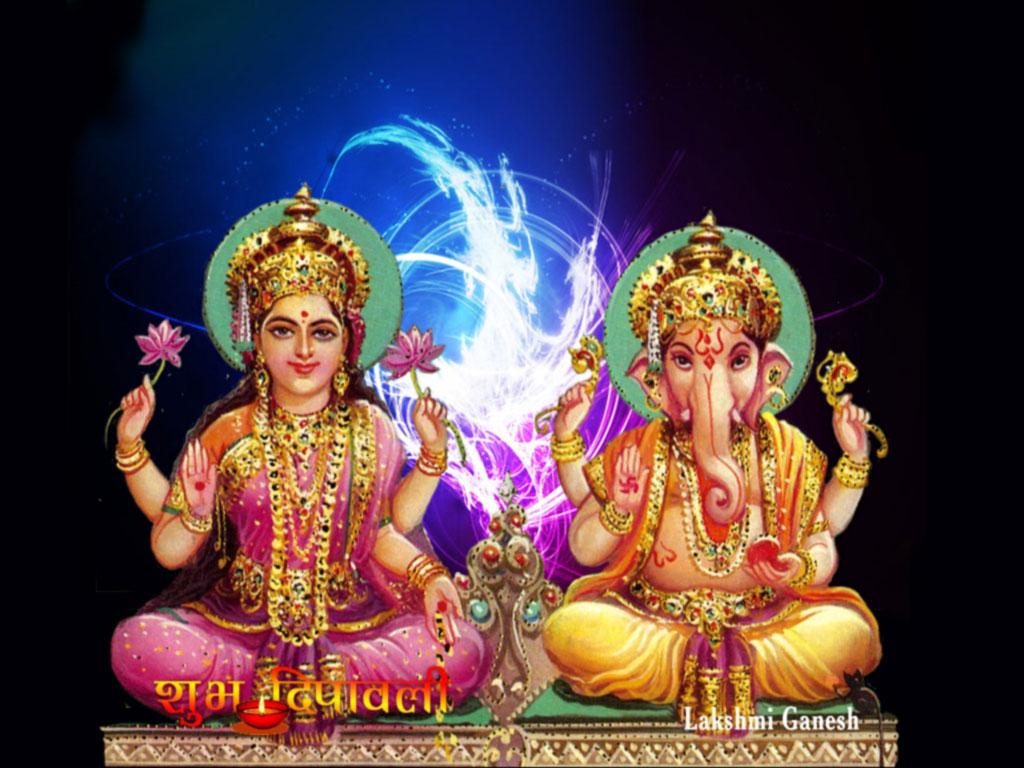 Shri Laxmi Ganesh Ji Wallpapers for Good morning messages