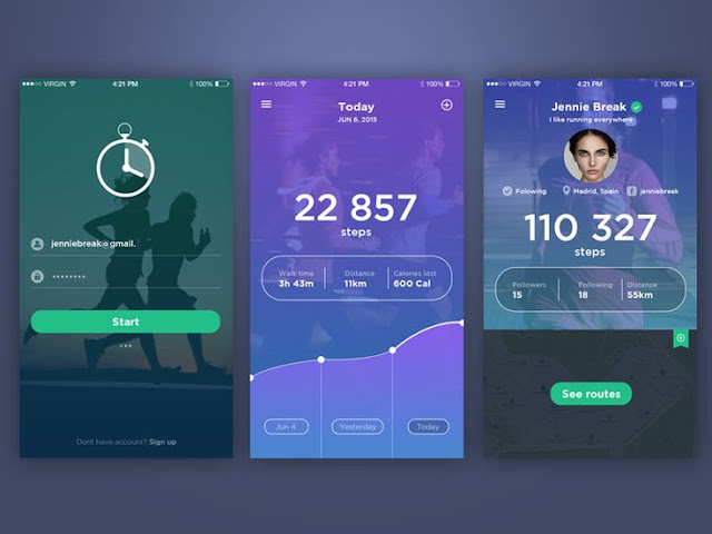 The best Running Apps for the iPhone for some Stylish Mobile Applications