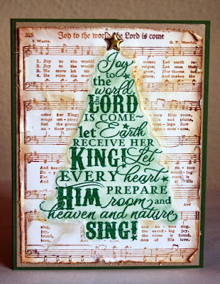 Our Daily Bread Designs, Joy to the World Hymn, Joy Tree