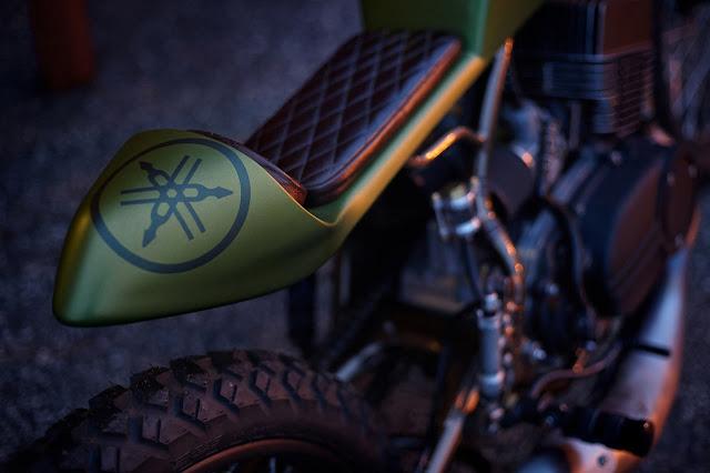 Yamaha RD350 By Krossover Custom Hell Kustom