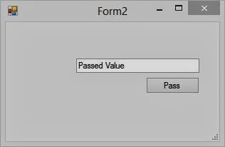 Passing value through Public Property: Windows Forms
