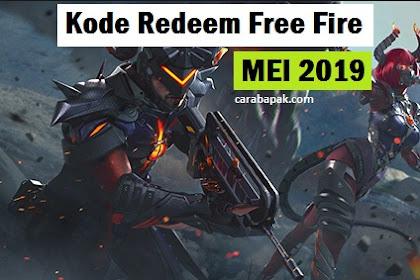 Kode Redeem Free Fire Mei 2019 - Buruan Redeem Sekarang Juga! | carabapak.com