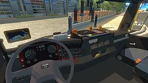 MAN TGA interior for TGX truck