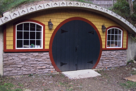 shedworking: my hobbit shed